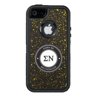Sigma Nu | Badge OtterBox iPhone 5/5s/SE Case