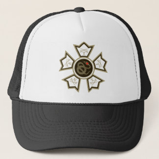 Sigma Nu Badge Trucker Hat