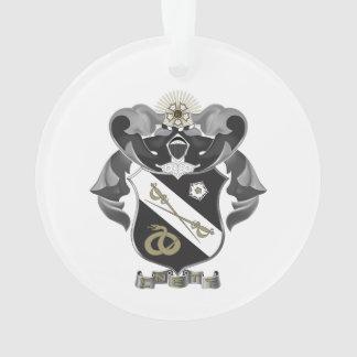 Sigma Nu Crest Ornament