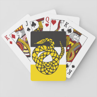 Sigma Nu Flag Playing Cards