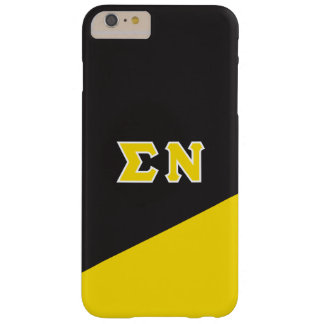 Sigma Nu | Greek Letters Barely There iPhone 6 Plus Case