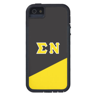 Sigma Nu | Greek Letters iPhone 5 Cases