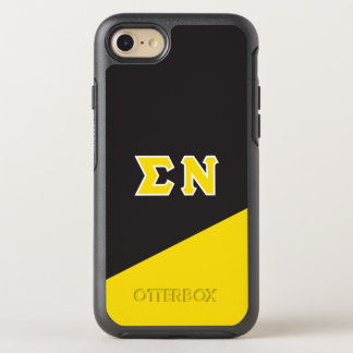Sigma Nu | Greek Letters OtterBox Symmetry iPhone 7 Case