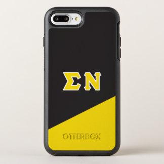 Sigma Nu | Greek Letters OtterBox Symmetry iPhone 8 Plus/7 Plus Case