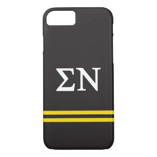 Sigma Nu | Sport Stripe iPhone 8/7 Case