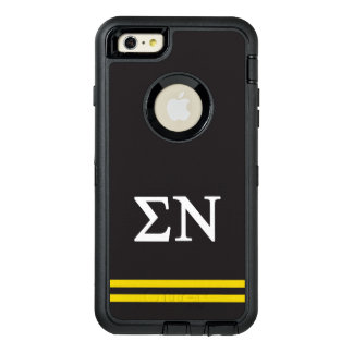 Sigma Nu | Sport Stripe OtterBox Defender iPhone Case