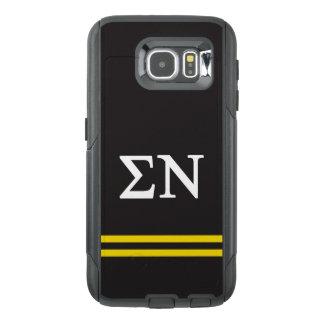 Sigma Nu | Sport Stripe OtterBox Samsung Galaxy S6 Case