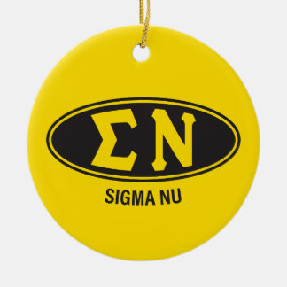 Sigma Nu | Vintage Ceramic Ornament
