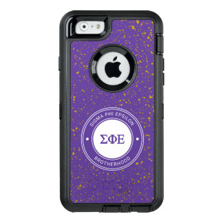 Sigma Phi Epsilon | Badge OtterBox Defender iPhone Case