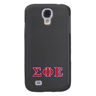 Sigma Phi Epsilon Purple and Red Letters