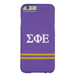 Sigma Phi Epsilon | Sport Stripe Barely There iPhone 6 Case