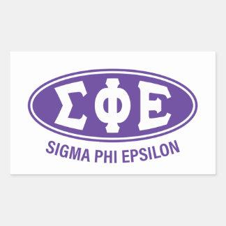 Sigma Phi Epsilon   Vintage Sticker