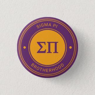 Sigma Pi   Badge 1 Inch Round Button