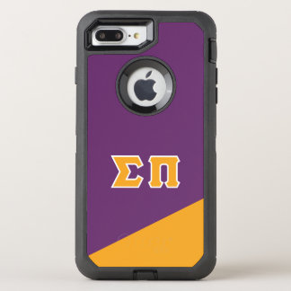 Sigma Pi | Greek Letters OtterBox Defender iPhone 8 Plus/7 Plus Case