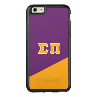 Sigma Pi | Greek Letters OtterBox iPhone 6/6s Plus Case