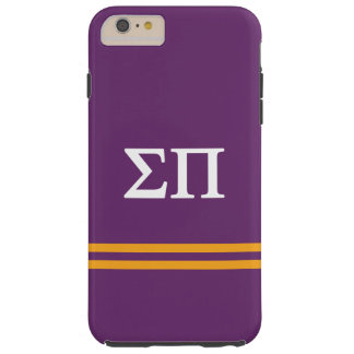 Sigma Pi | Sport Stripe Tough iPhone 6 Plus Case