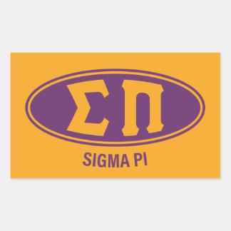 Sigma Pi | Vintage Sticker