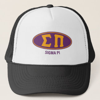 Sigma Pi   Vintage Trucker Hat