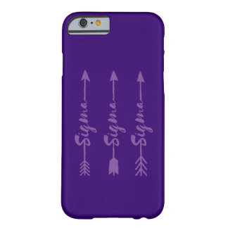 Sigma Sigma Sigma Arrow Barely There iPhone 6 Case