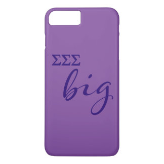 Sigma Sigma Sigma Big Script iPhone 8 Plus/7 Plus Case