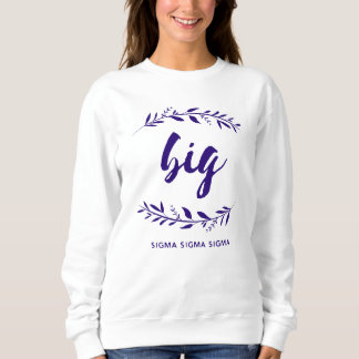 Sigma Sigma Sigma Big Wreath Sweatshirt