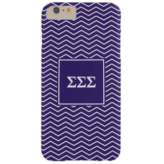 Sigma Sigma Sigma | Chevron Pattern Barely There iPhone 6 Plus Case