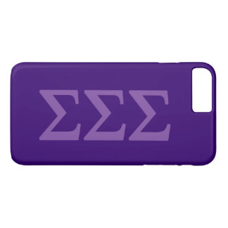 Sigma Sigma Sigma Lil Big Logo iPhone 8 Plus/7 Plus Case