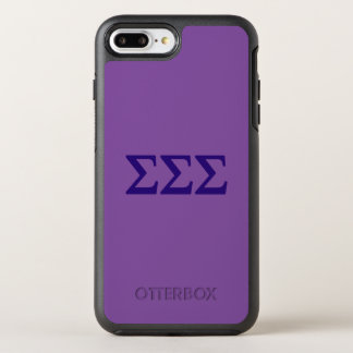Sigma Sigma Sigma Lil Big Logo OtterBox Symmetry iPhone 8 Plus/7 Plus Case