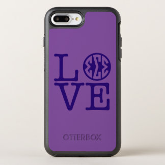 Sigma Sigma Sigma Love OtterBox Symmetry iPhone 8 Plus/7 Plus Case