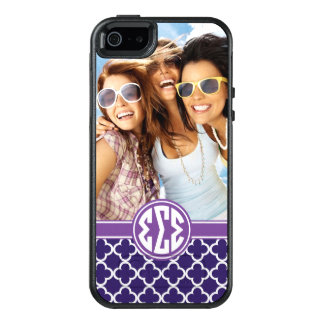 Sigma Sigma Sigma | Monogram and Photo OtterBox iPhone 5/5s/SE Case