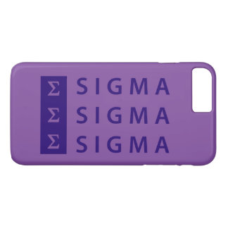Sigma Sigma Sigma Stacked Case-Mate iPhone Case