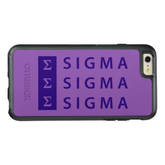 Sigma Sigma Sigma Stacked OtterBox iPhone 6/6s Plus Case