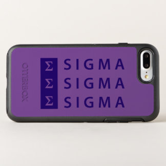 Sigma Sigma Sigma Stacked OtterBox Symmetry iPhone 8 Plus/7 Plus Case