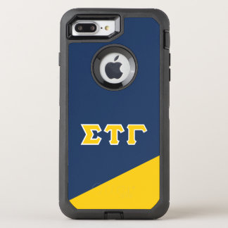 Sigma Tau Gamma | Greek Letters OtterBox Defender iPhone 8 Plus/7 Plus Case