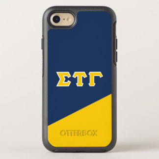 Sigma Tau Gamma | Greek Letters OtterBox Symmetry iPhone 8/7 Case