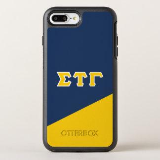 Sigma Tau Gamma | Greek Letters OtterBox Symmetry iPhone 8 Plus/7 Plus Case
