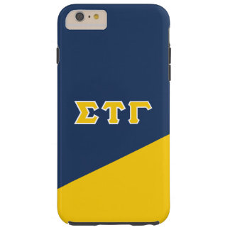 Sigma Tau Gamma | Greek Letters Tough iPhone 6 Plus Case