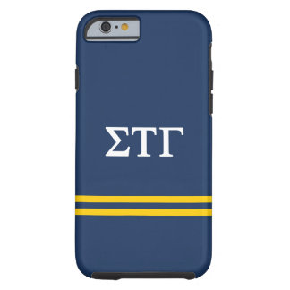 Sigma Tau Gamma | Sport Stripe Tough iPhone 6 Case