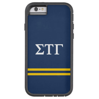 Sigma Tau Gamma | Sport Stripe Tough Xtreme iPhone 6 Case