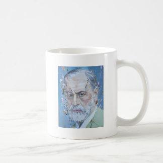 SIGMUND FREUD - oil portrait Coffee Mug