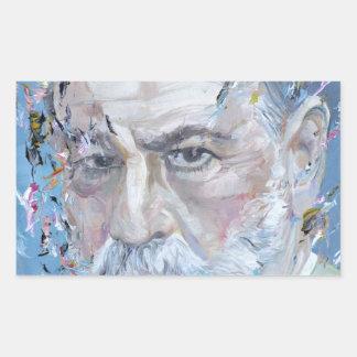 SIGMUND FREUD - oil portrait Sticker