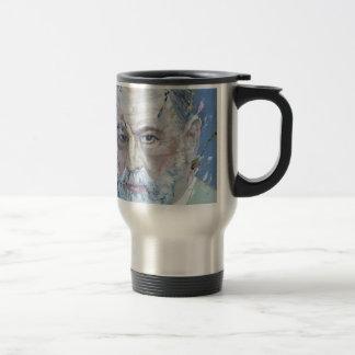 SIGMUND FREUD - oil portrait Travel Mug