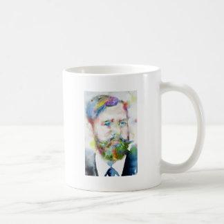 SIGMUND FREUD - watercolor portrait.1 Coffee Mug