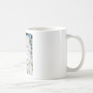 SIGMUND FREUD - watercolor portrait.2 Coffee Mug