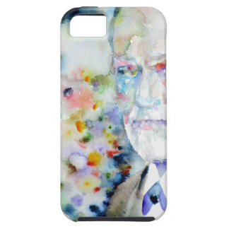 SIGMUND FREUD - watercolor portrait.2 iPhone 5 Covers