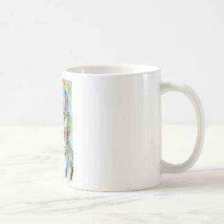 sigmund freud - watercolor portrait.3 coffee mug