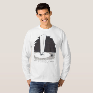 Sign From George long sleeve cartoon shirt
