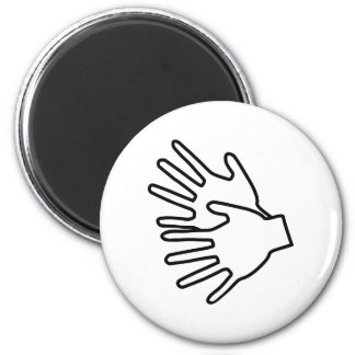 sign language icon magnet