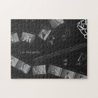 Sign Language Photogram Jigsaw Puzzle