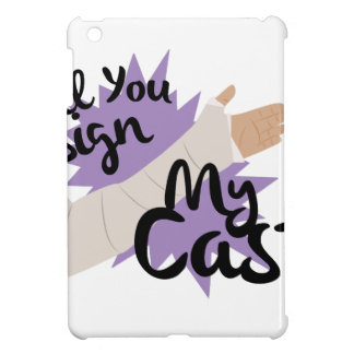 Sign My Cast Case For The iPad Mini
